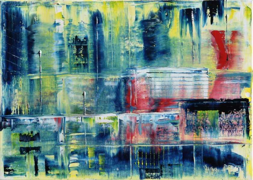 Matrix der Vergangenheit, Gemälde
